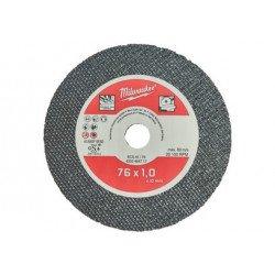 1 Disque à tronçonner fin pour acier-inox pour Meuleuse 12V