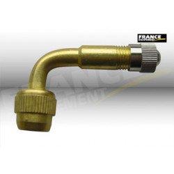 1 adaptateur pour valve droite, coudé à 90°
