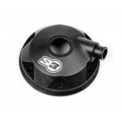 Kit culasse et insert S3 Stars Head aluminium noir Sherco/Scorpa