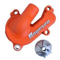 Carter de pompe à eau + hélice BOYESEN alu orange KTM SX-F250/350