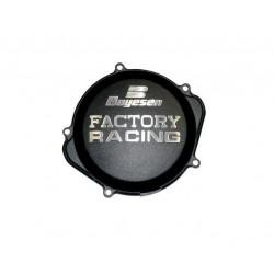 Couvercle de carter d'embrayage BOYESEN Factory Racing alu noir Yamaha YZ250F