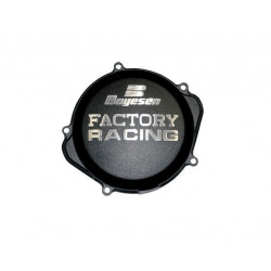 Couvercle de carter d'embrayage BOYESEN Factory Racing alu noir Yamaha YZ250