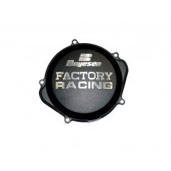 Couvercle de carter d'embrayage BOYESEN Factory Racing alu noir KTM EXC250/300
