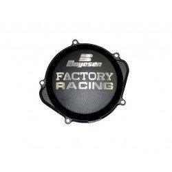 Couvercle de carter d'embrayage BOYESEN Factory Racing alu noir KTM EXC450/500