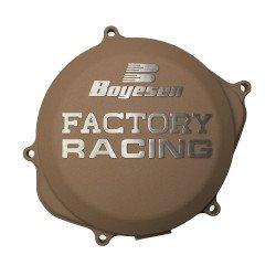 Couvercle de carter d'embrayage BOYESEN Factory Racing alu couleur magnésium KTM SX-F250/350 Husqvarna FC250/350