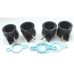 KIT PIPES D'ADMISSION 4PCS POUR FZ600 1986-88