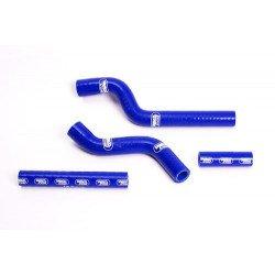 Durites de radiateur SAMCO type origine bleu - 4 durites Yamaha YZ250F