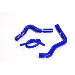 Durites de radiateur SAMCO type origine bleu - 3 durites Suzuki RM85