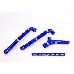 Durites de radiateur SAMCO kit transformation Y bleu - 4 durites TM