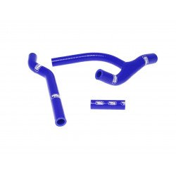 Durites de radiateur SAMCO kit transformation Y bleu - 3 durites Honda CRF250R