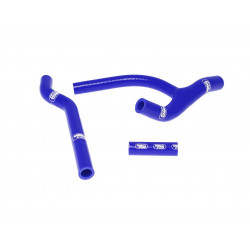 Durites de radiateur SAMCO kit transformation Y bleu - 4 durites Honda CRF450R