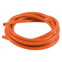 Durite de mise à l'air SAMCO pour carburateur silicone orange 3m - Øint. 5mm/Øext. 10mm