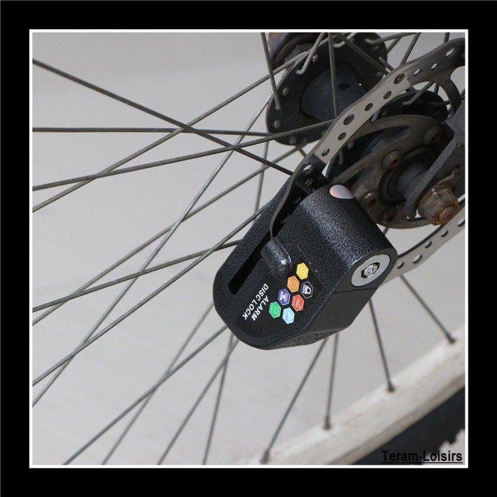 exquisite design timeless design cost charm Antivol Bloc Disque Alarme 110 DB pour Moto Scooter Quad ...