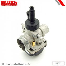 Carburateur DELLORTO PHBG 19 BS pour pipe d'admission souple