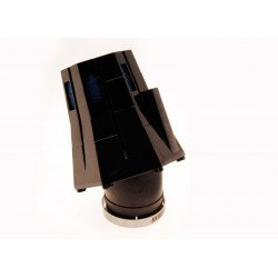 Filtre à air BIHR 30° avec capuchon noir/bleu