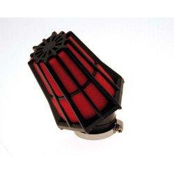 Filtre à air BIHR 30° noir/rouge