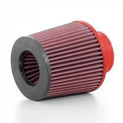 Filtre à air BMC conique manchon Ø70mm haut carbone