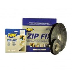 Ruban sangle Zip Fix HPX noir 20mm x 5m