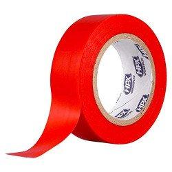 Ruban adhésif isolant HPX rouge 19mm x 10m