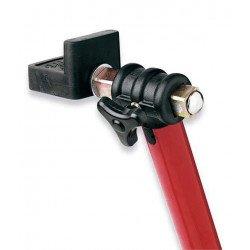"""Béquille arrière universelle BIKE LIFT rouge avec supports caoutchouc en """"L"""""""