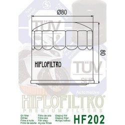 Filtre à huile HIFLOFILTRO HF202 noir