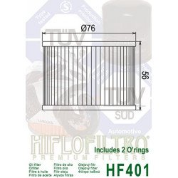 Filtre à huile HIFLOFILTRO HF401