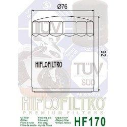 Filtre à huile HIFLOFILTRO HF170B noir Harley Davidson