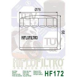 Filtre à huile HIFLOFILTRO HF172C chrome Harley Davidson