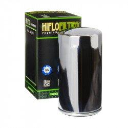 Filtre à huile HIFLOFILTRO HF173C chrome Harley Davidson