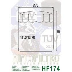 Filtre à huile HIFLOFILTRO HF174C chrome Harley Davidson