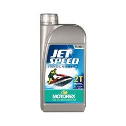 Huile moteur MOTOREX Jet Speed 2T synthétique performance 4L