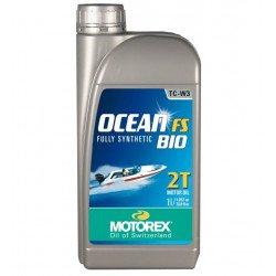 Huile moteur MOTOREX Ocean FS 2T Bio 100% synthétique 1L