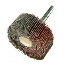 Roue à lamelle PTS OUTILLAGE sur tige grain 60 Ø50X20mm