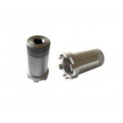 Douille à créneaux JMP pour colonne de direction Øint.38mm/Øext.44,5mm 6 crans Triumph