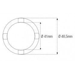 Douille à créneaux JMP pour colonne de direction Øint.41mm/Øext.48,5mm 4 crans Honda