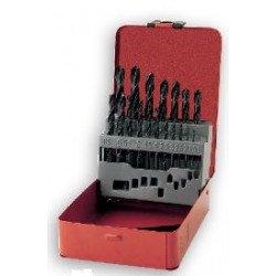 Boîte de 19 forets PTS OUTILLAGE HSS 1 à 10mm