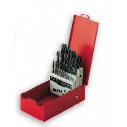 Boîte de 25 forets PTS OUTILLAGE HSS 1 à 13mm