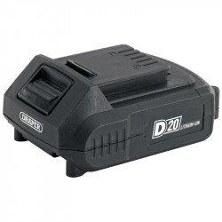 Batterie DRAPER D20 20V 2.0Ah Lithium-Ion
