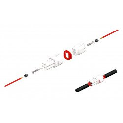 Joints silicone creux 090 SMTO BIHR Ø1,7mm noir - 50pcs