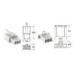 Jeu de connectiques 3 voies 110 ML BIHR type origine Ø0,5mm²/0,85mm² - 5 jeux complets