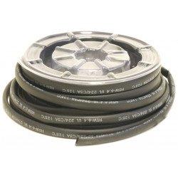 Bobine de gaine thermoretractable BIHR noir Ø4,8mm 12m