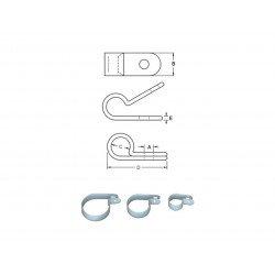 Serre-câble BIHR plastique Ø8mm 10 pièces