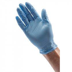 Gants de protection DRAPER nitrile bleu (100 pièces)