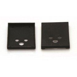 Protections plastique BIHR pour mors 70x57mm