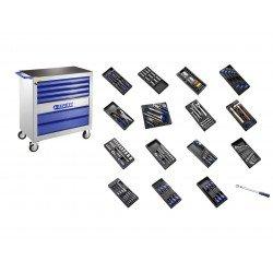 Servante XL équipée EXPERT 250 outils - 7 tiroirs