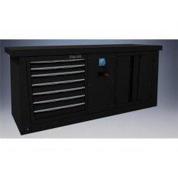Meuble 2m BIKE LIFT 7 tiroirs/air-electricité/poubelle