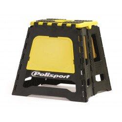 Lève-moto fixe POLISPORT repliable jaune RM/noir