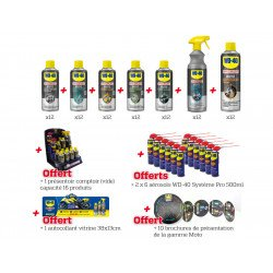 Pack implantation n°1 WD 40 Specialist Moto