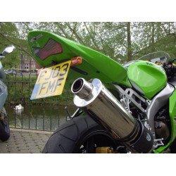 Support de plaque R&G RACING pour ZX6R '03-04, Z1000 '03-06, Z750 '03-06