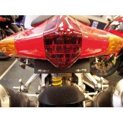Support de plaque R&G RACING pour RSV '04-08, Tuono 1000 '06-08